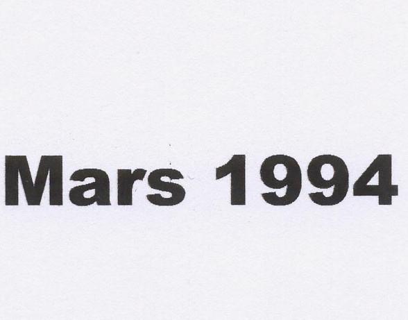 balade mars 1994