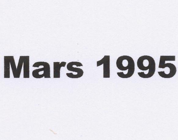 balade Mars 1995