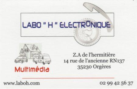 Labo H Electronique Partenaire Des Motards Ont Du Coeur