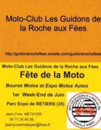 Les Guidons De La Roche Aux Fées Partenaire Des Motards Ont Du Cœur