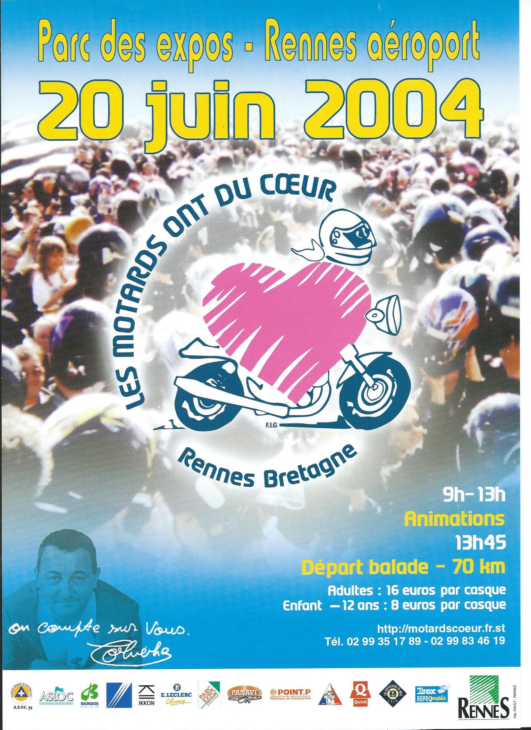 Photos de la balade du 20 Juin 2004