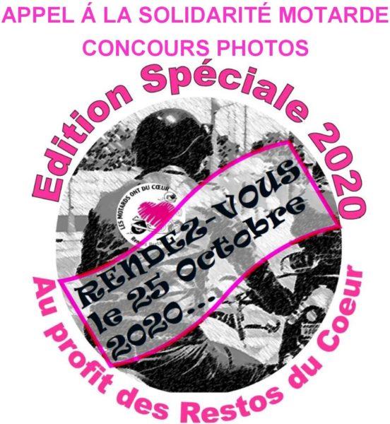 APPEL À LA SOLIDARITÉ MOTARDE Et CONCOURS PHOTOS